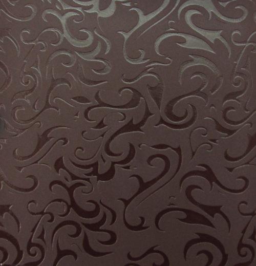 Дамаск люкс коричневый